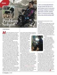 Outspoken Magazine Article - Fall 2010